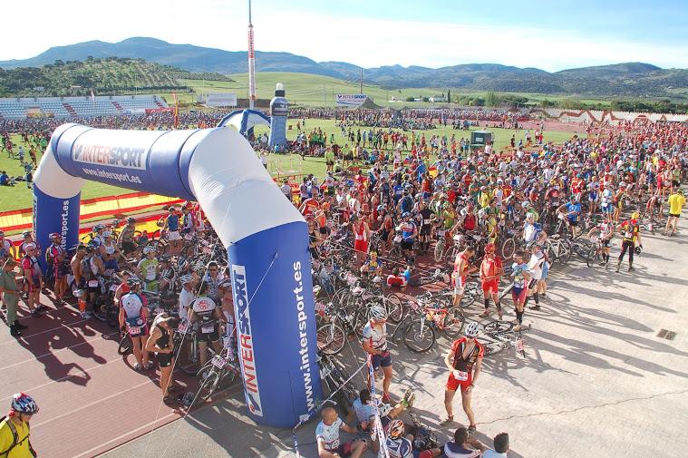 101 kilómetros de Ronda 2012. Foto: lalegion101.com
