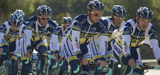 Vacansoleil-DCM Pro Cycling Team1st training camp. Foto: Vacansoleil.com