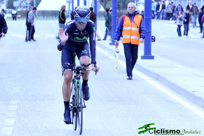 Valverde gana la prólogo de la Vuelta a Andalucía 2013. Foto. Ciclismo Andaluz.