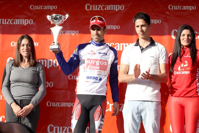 Luis Mas con el maillot de las metas volantes