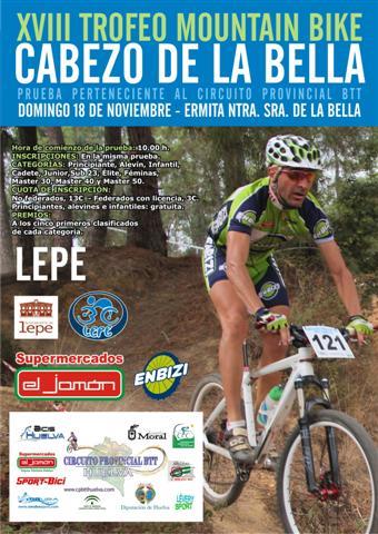 """XVIII edición del trofeo MTB """"Cabezo de la Bella"""""""
