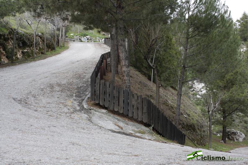 Última revuelta: 26% de desnivel. Foto: CiclismoAndaluz.es