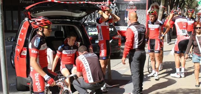 Burgos BH en los instantes previos a una carrera: Foto: Burgos BH