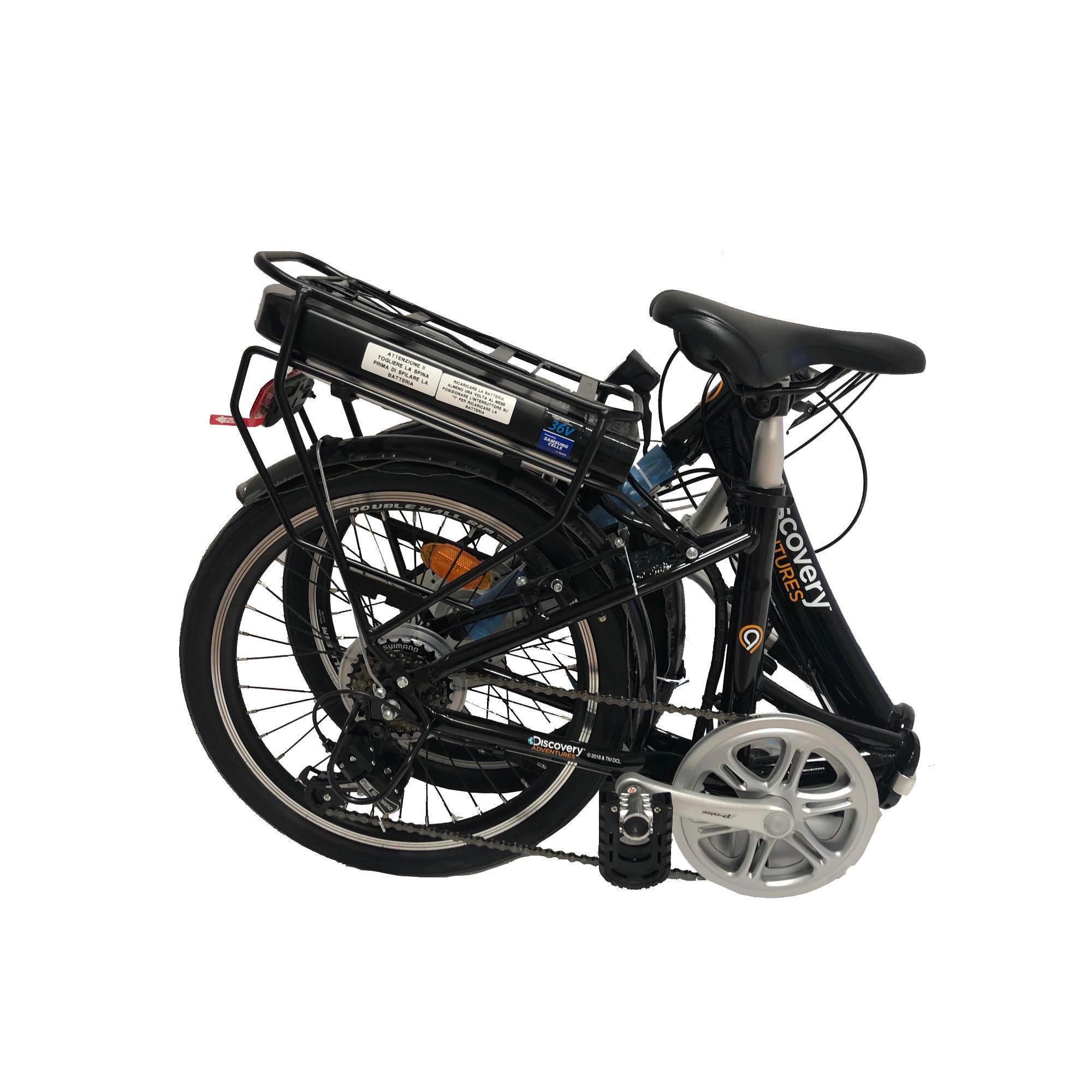 Bicicleta eléctrica plegable Discovery Adventures E2000. Análisis, opiniones y precio