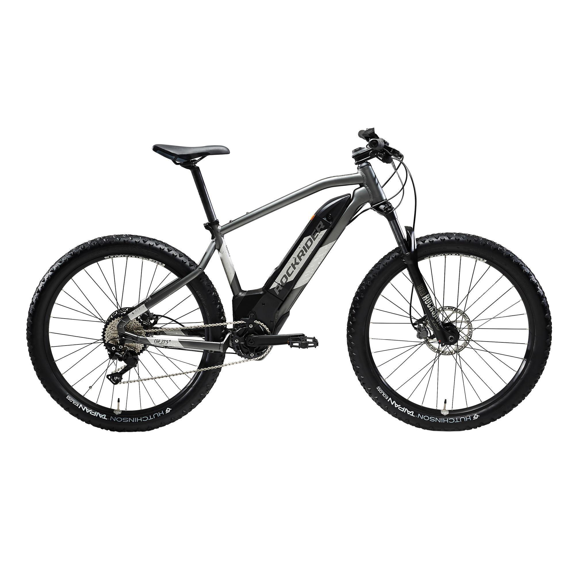 Bicicleta eléctrica de montaña Rockrider EBIKE ST 900