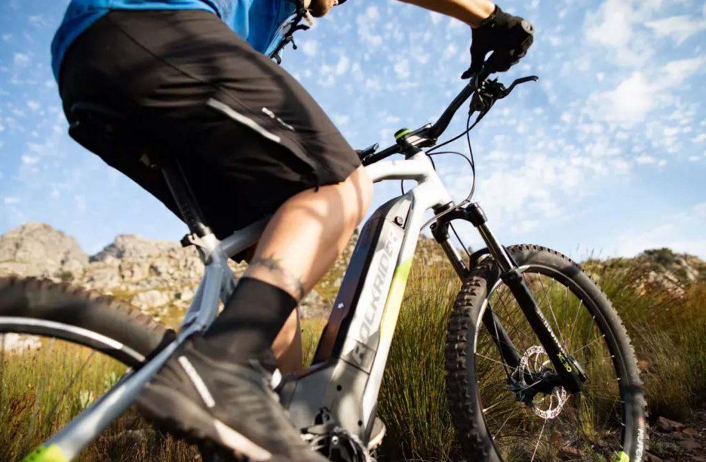 Bicicleta eléctrica de montaña Decathlon Rockrider e-ST 520 (27,5'')